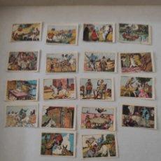 Coleccionismo Cromos antiguos: LOTE 18 CROMOS DON QUIJOTE DE LA MANCHA. Lote 219362252