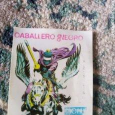 Coleccionismo Cromos antiguos: CROMO CROPÁN SUPER HÉROES, NÚM 61. CABALLERO NEGRO. Lote 219391097