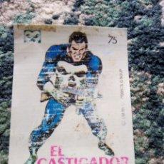 Coleccionismo Cromos antiguos: CROMO CROPÁN SUPER HÉROES NÚM 75. EL CASTIGADOR. Lote 219486968