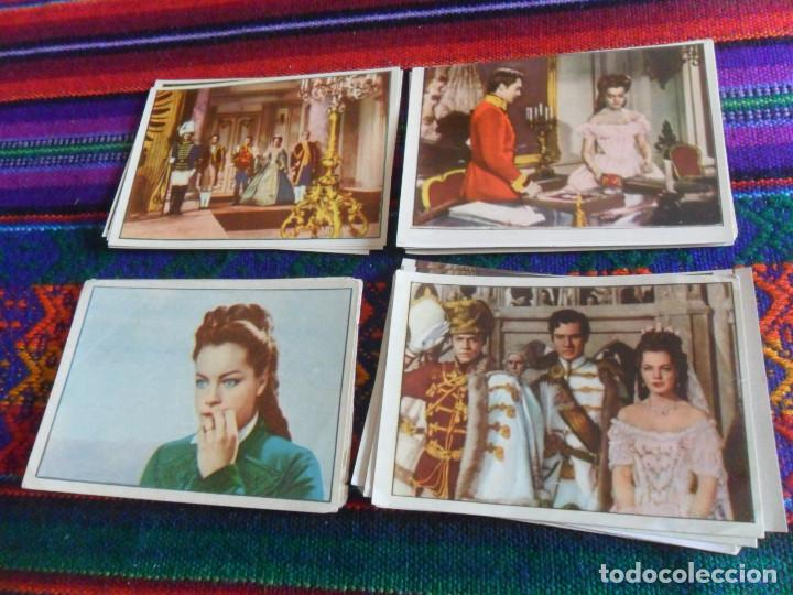 Coleccionismo Cromos antiguos: LOTE 46 CROMO NUNCA PEGADO SISSI EMPERATRIZ. BRUGUERA AÑOS 50. TAMBIÉN SUELTOS. - Foto 3 - 218730273