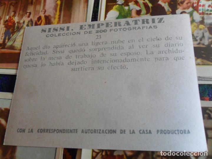Coleccionismo Cromos antiguos: LOTE 46 CROMO NUNCA PEGADO SISSI EMPERATRIZ. BRUGUERA AÑOS 50. TAMBIÉN SUELTOS. - Foto 4 - 218730273