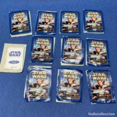 Coleccionismo Cromos antiguos: LOTE DE 11 SOBRE CROMOS DE STAR WARS ATTACK OF THE CLONES -. Lote 219967241