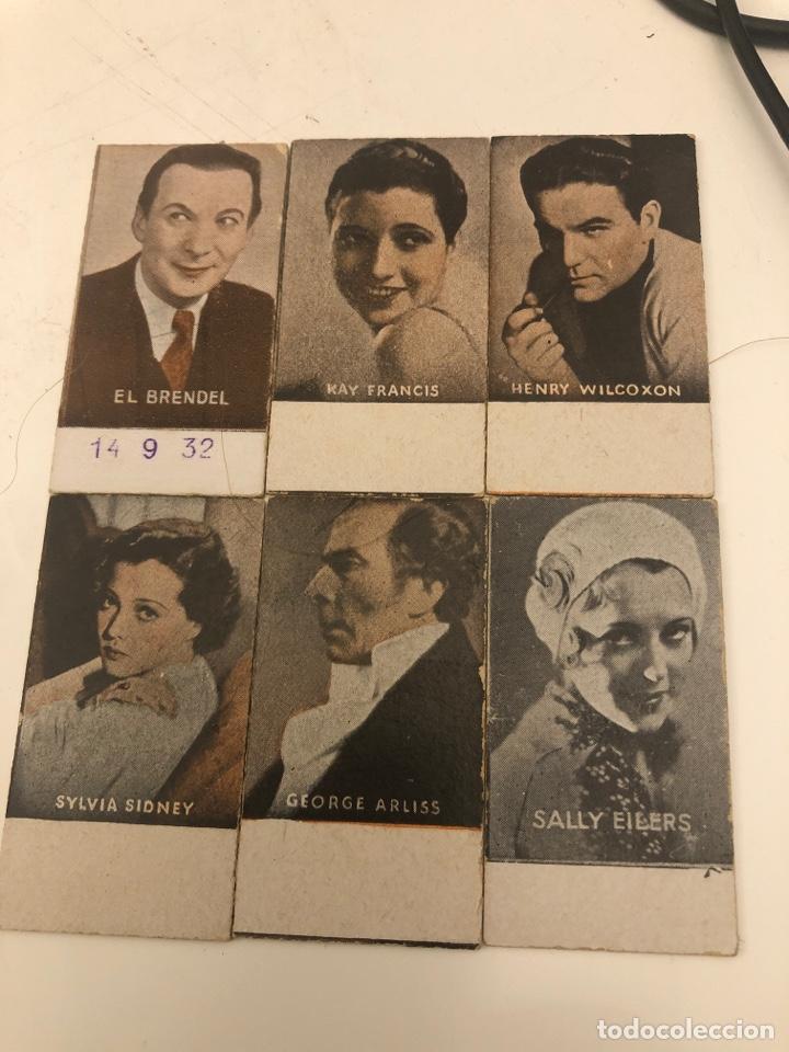 TICKET CROMO PESA BÁSCULA ARTISTAS (Coleccionismo - Cromos y Álbumes - Cromos Antiguos)