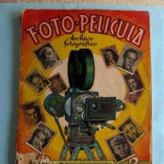 Coleccionismo Cromos antiguos: LOTE DE CROMOS. CROMOS SUELTOS; 1,00 €. FOTO PELÍCULA. ARTISTAS DE CINE, 1940'S.. Lote 220877726