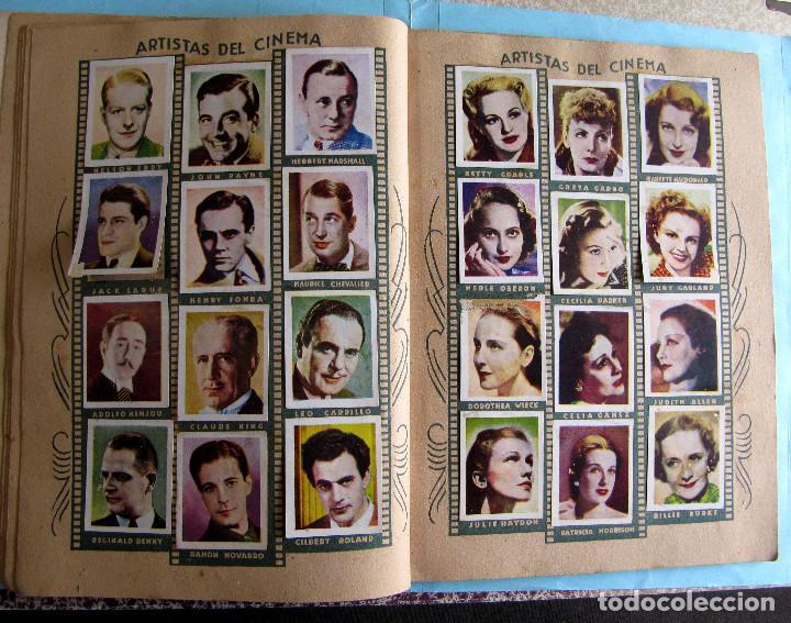 Coleccionismo Cromos antiguos: LOTE DE CROMOS. CROMOS SUELTOS; 1,00 €. FOTO PELÍCULA. ARTISTAS DE CINE, 1940S. - Foto 3 - 220877726