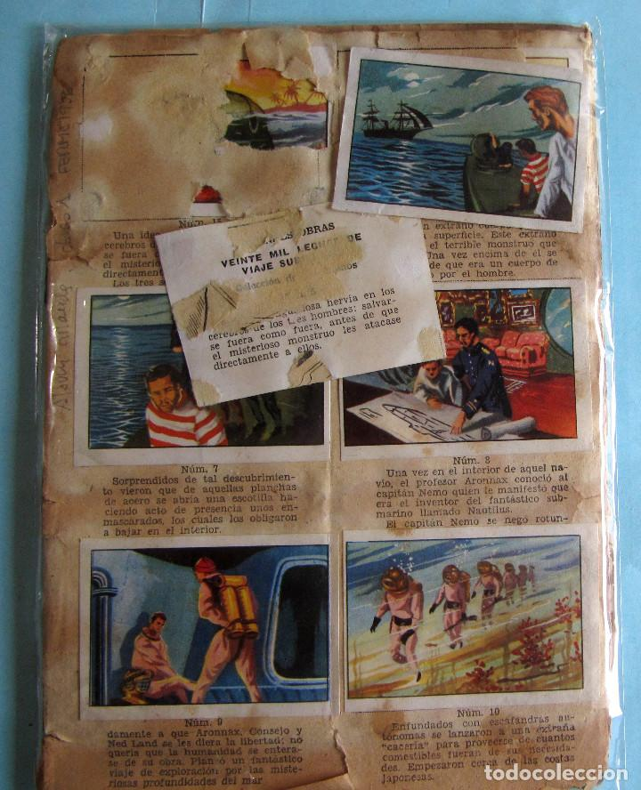 LOTE DE CROMOS. CROMOS SUELTOS; 1,00 €. GRANDES OBRAS. ÁLBUM 1. FERMA, 1956. (Coleccionismo - Cromos y Álbumes - Cromos Antiguos)