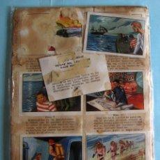 Coleccionismo Cromos antiguos: LOTE DE CROMOS. CROMOS SUELTOS; 1,00 €. GRANDES OBRAS. ÁLBUM 1. FERMA, 1956.. Lote 220917477
