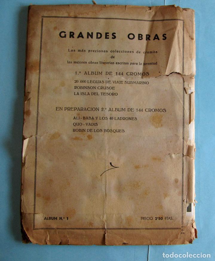 Coleccionismo Cromos antiguos: LOTE DE CROMOS. CROMOS SUELTOS; 1,00 €. GRANDES OBRAS. ÁLBUM 1. FERMA, 1956. - Foto 3 - 220917477