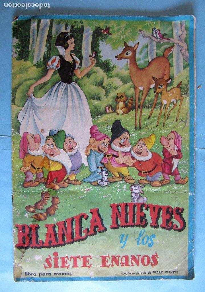 LOTE DE CROMOS. CROMOS SUELTOS; 0,80 €. BLANCA NIEVES Y LOS SIETE ENANOS. EDITORIAL FHER, 1964. (Coleccionismo - Cromos y Álbumes - Cromos Antiguos)