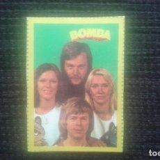 Coleccionismo Cromos antiguos: CROMO BOMBA. ABBA. NUMERO 5.. Lote 220946071