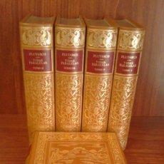 Coleccionismo Cromos antiguos: PLUTARCO - VIDAS PARALELAS - 5 VOLÚMENES - CÍRCULO DEL BIBLIÓFILO 1980 [IMPRENTA NACIONAL 1821-1822]. Lote 220957851