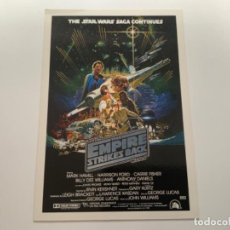 Coleccionismo Cromos antiguos: TOPPS STAR WARS USA. WIDEVISION. THE EMPIRE STRIKES BACK. MINI POSTER 4. Lote 221450261