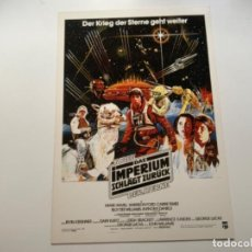 Coleccionismo Cromos antiguos: TOPPS STAR WARS USA. WIDEVISION. THE EMPIRE STRIKES BACK. MINI POSTER 5. Lote 221450520