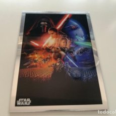 Coleccionismo Cromos antiguos: TOPPS STAR WARS USA. 2019. CHROME LEGACY. INSERT POSTER CARD PC-7 THE FORCE AWAKENS.. Lote 221459158