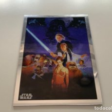 Coleccionismo Cromos antiguos: TOPPS STAR WARS USA. 2019. CHROME LEGACY. INSERT POSTER CARD PC-3 RETURN OF THE JEDI. Lote 221459336