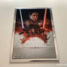 Coleccionismo Cromos antiguos: TOPPS STAR WARS USA. 2019. CHROME LEGACY. INSERT POSTER CARD PC-8 THE LAST JEDI. Lote 221459673