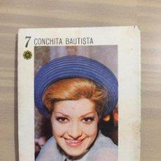 Coleccionismo Cromos antiguos: CROMO TELE BANCO CANCIÓN - CONCHITA BAUTISTA. Lote 221508006