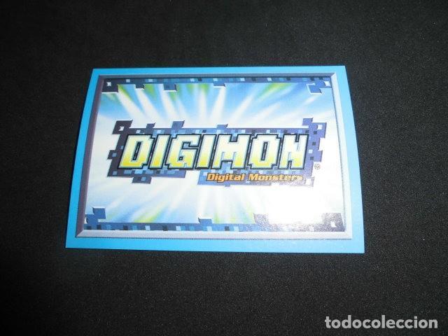 CROMO STICKER DE: DIGIMON DIGITAL MONSTERS 3 - Nº 1 - SIN PEGAR - PANINI 2002. (Coleccionismo - Cromos y Álbumes - Cromos Antiguos)