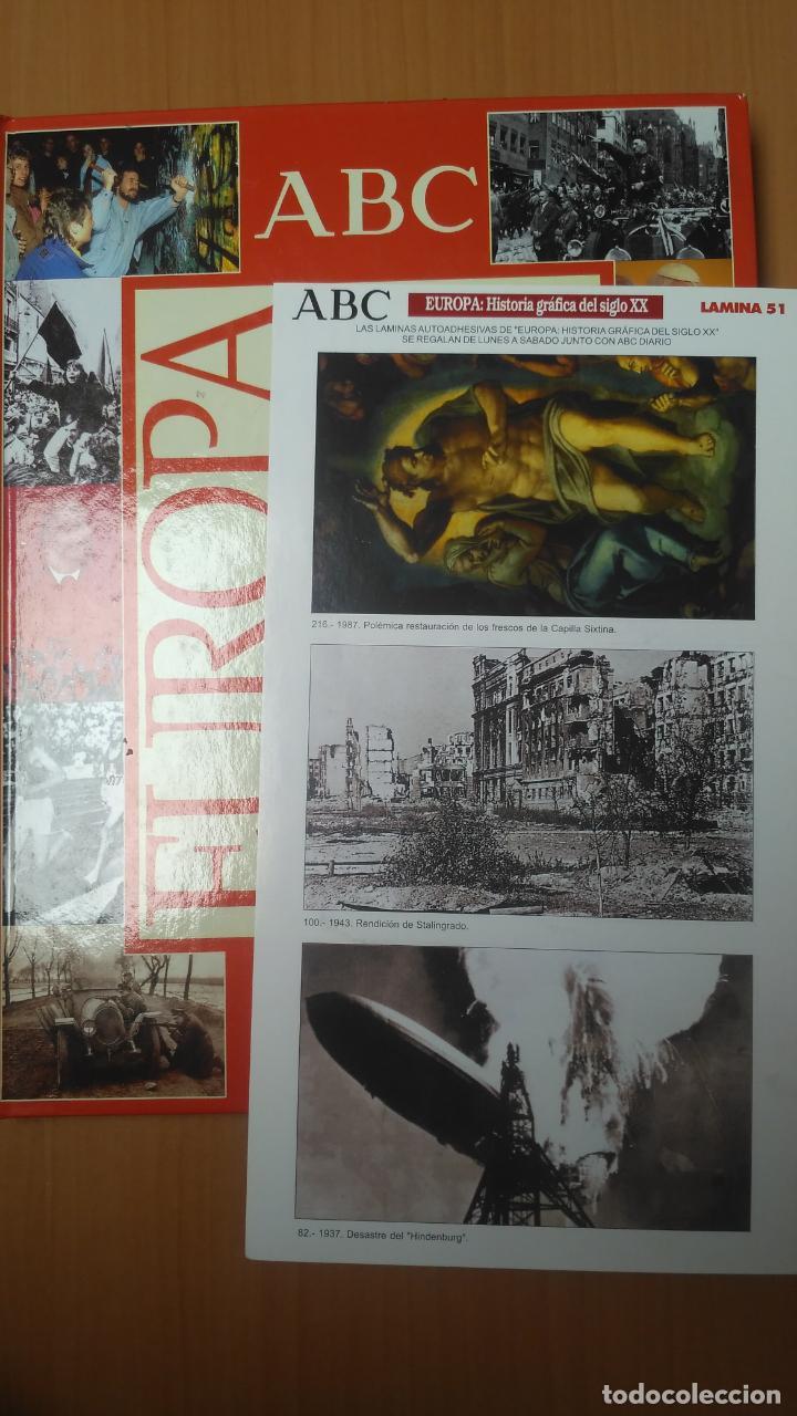 EUROPAA HISTORIA GRAFICA DEL SIGLO XX. LÁMINA 51 (Coleccionismo - Cromos y Álbumes - Cromos Antiguos)