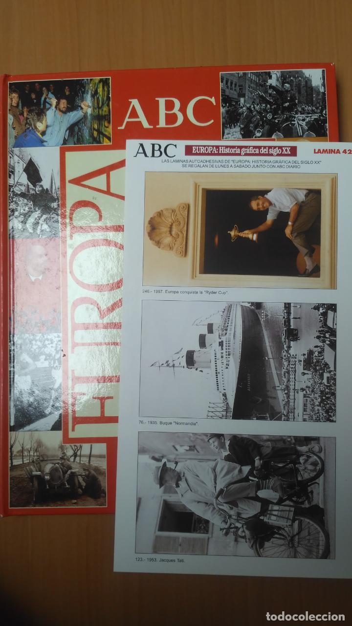 EUROPAA HISTORIA GRAFICA DEL SIGLO XX. LÁMINA 42 (Coleccionismo - Cromos y Álbumes - Cromos Antiguos)