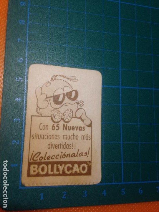 Coleccionismo Cromos antiguos: PEGATINA CROMO BOLLYCAO - BOLLY-TOIS - TOI DE MOVIDA - Foto 2 - 221517221