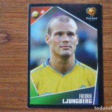 Collectionnisme Cartes à collectionner anciennes: CROMO ALBUM UEFA EURO 2004 PORTUGAL PANINI Nº 192 FREDRIK LJUNGBERG (SUECIA) SIN PEGAR - EUROCOPA 04. Lote 221604287