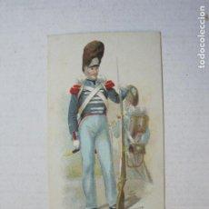 Coleccionismo Cromos antiguos: GUARDIA REAL 1826-CHOCOLATE JAIME BOIX-CROMO ANTIGUO-VER FOTOS-(74.897). Lote 221709735