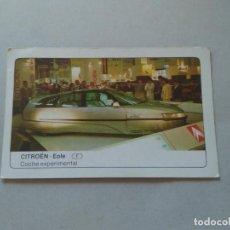 Coleccionismo Cromos antiguos: Nº 40 CITROEN EOLE - CROMO MOTOR COLECCIÓN COCHES 1986 EDICIONES UNIDAS S.A.. Lote 221845580