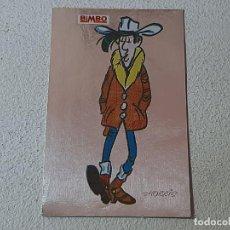 Coleccionismo Cromos antiguos: BIMBO : ANTIGUO CROMO LOS ADHESIVOS MAS BRILLANTES DEL OESTE Nº 1 DE LUCKY LUKE AÑO 1985 DARGAUD. Lote 221943231