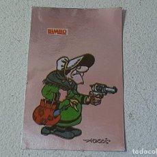 Coleccionismo Cromos antiguos: BIMBO : LOS ADHESIVOS MAS BRILLANTES DEL OESTE Nº 12 DE LUCKY LUKE MAMA DALTON AÑO 1985 DARGAUD. Lote 221943401