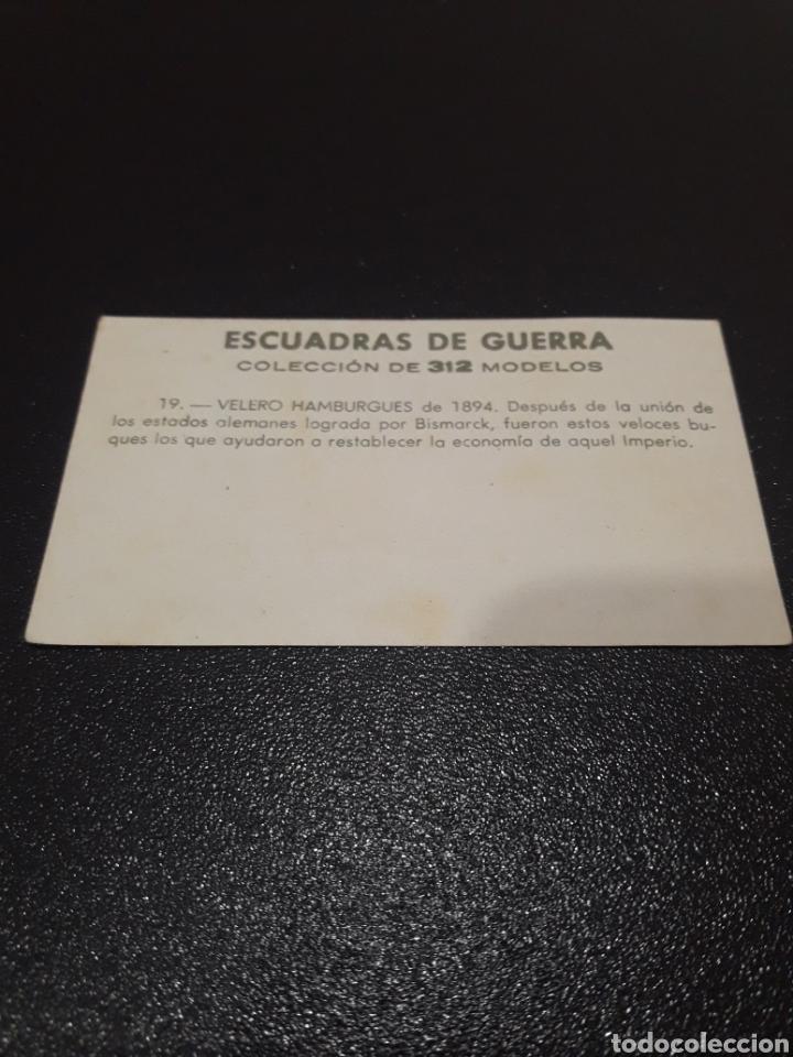 Coleccionismo Cromos antiguos: ESCUADRAS DE GUERRA N° 19. SIN PEGAR - Foto 2 - 221993763