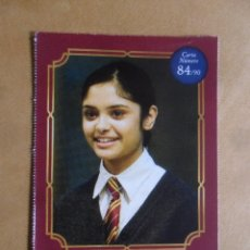 Coleccionismo Cromos antiguos: Nº 84 - HARRY POTTER - WIZARDING WORLD - CARREFOUR 2020 - PADMA PATIL. Lote 222076955