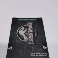 Coleccionismo Cromos antiguos: DÍA JURASSIC WORLD N° 42/64 JURASSIC WORLD.. Lote 222232513