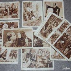 Coleccionismo Cromos antiguos: LOTE DE 34 CROMOS CUPONES LA ACCION-LAS CRUZADAS. Lote 222355421