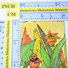 Coleccionismo Cromos antiguos: CROMO CROMITO TROQUELADO. LA ABEJA MAYA Nº 109 AÑO 1978 QUELCOM.. Lote 222396462