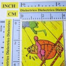 Coleccionismo Cromos antiguos: CROMO CROMITO TROQUELADO. LA ABEJA MAYA Nº 141 AÑO 1978 QUELCOM.. Lote 222396548