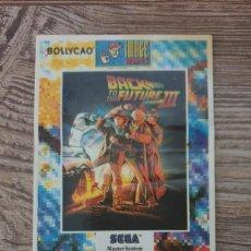 Coleccionismo Cromos antiguos: CROMO BOLLYCAO SEGA-92 REGRESO AL FUTURO III MUY DIFICIL DE CONSEGUIR!!. Lote 222403638