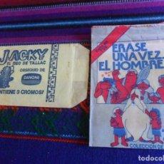 Coleccionismo Cromos antiguos: SOBRE VACÍO ÉRASE UNA VEZ EL HOMBRE DE PACOSA DOS 2. 1978. REGALO JACKY EL OSO TALLAC DANONE. RARO.. Lote 222461130