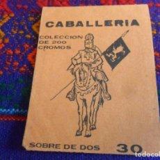 Coleccionismo Cromos antiguos: SOBRE VACÍO CABALLERÍA DE RUIZ ROMERO 1965. 30 CTS. BUEN ESTADO Y DIFÍCIL.. Lote 222470648