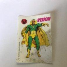 Coleccionismo Cromos antiguos: LA VISION - SUPER HEROES DE CROPAN. Lote 222613913