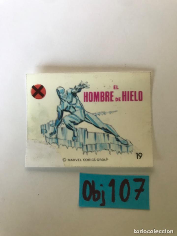 EL HOMBRE DE HIELO - SUPER HEROES DE CROPAN (Coleccionismo - Cromos y Álbumes - Cromos Antiguos)