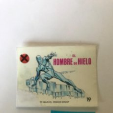Coleccionismo Cromos antiguos: EL HOMBRE DE HIELO - SUPER HEROES DE CROPAN. Lote 222613966