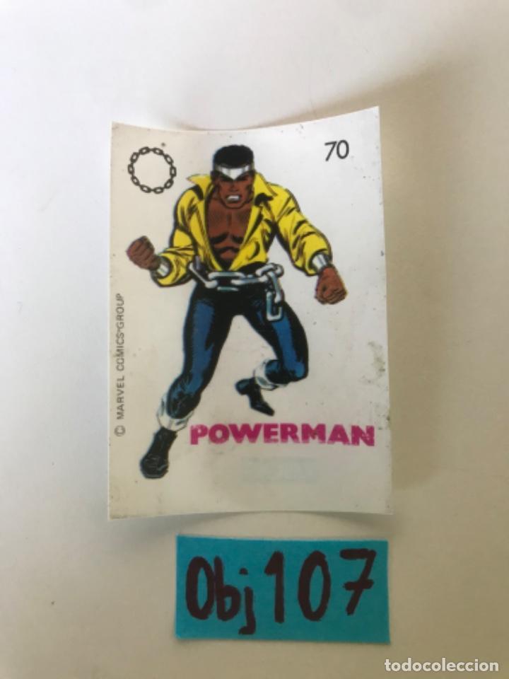 POWERMAN - SUPER HEROES DE CROPAN (Coleccionismo - Cromos y Álbumes - Cromos Antiguos)