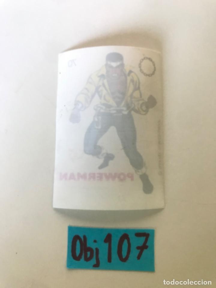 Coleccionismo Cromos antiguos: POWERMAN - SUPER HEROES DE CROPAN - Foto 2 - 222614000
