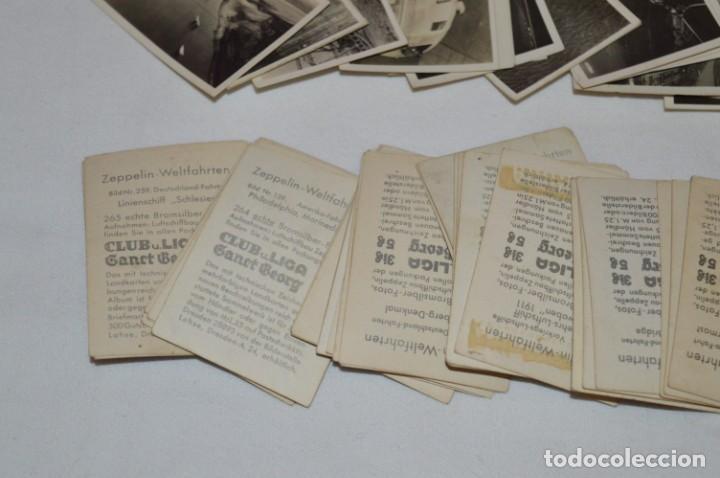 Coleccionismo Cromos antiguos: ZEPPELIN-Weltfahrten / Lote antiguo de 60 cromos alemanes - Dirigibles Zeppelín / Años 30 - Lote 04 - Foto 9 - 222708846
