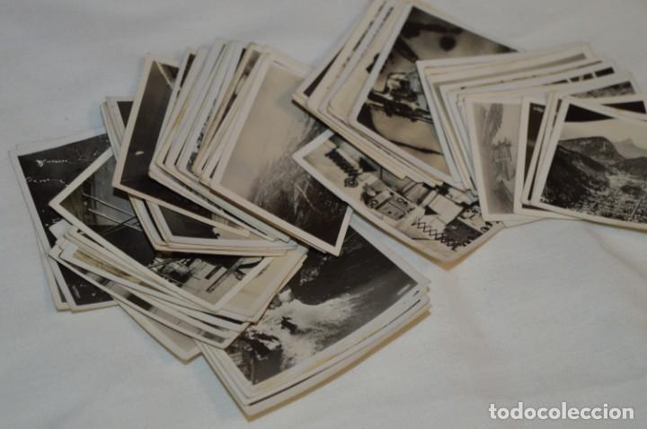 Coleccionismo Cromos antiguos: ZEPPELIN-Weltfahrten / Lote antiguo de 60 cromos alemanes - Dirigibles Zeppelín / Años 30 - Lote 04 - Foto 2 - 222708846
