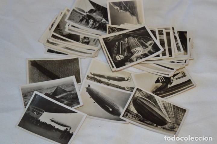 ZEPPELIN-WELTFAHRTEN / LOTE ANTIGUO DE 60 CROMOS ALEMANES - DIRIGIBLES ZEPPELÍN / AÑOS 30 - LOTE 04 (Coleccionismo - Cromos y Álbumes - Cromos Antiguos)