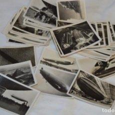 Coleccionismo Cromos antiguos: ZEPPELIN-WELTFAHRTEN / LOTE ANTIGUO DE 60 CROMOS ALEMANES - DIRIGIBLES ZEPPELÍN / AÑOS 30 - LOTE 04. Lote 222708846