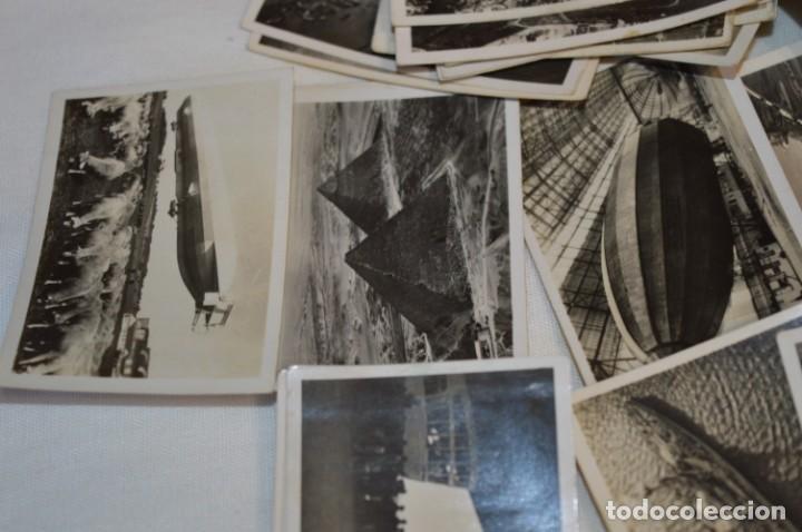 Coleccionismo Cromos antiguos: ZEPPELIN-Weltfahrten / Lote antiguo de 60 cromos alemanes - Dirigibles Zeppelín / Años 30 - Lote 04 - Foto 11 - 222708846