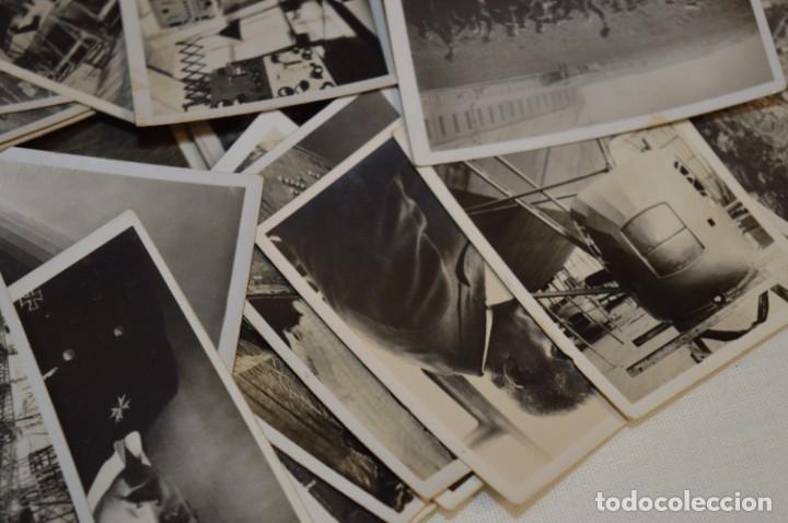 Coleccionismo Cromos antiguos: ZEPPELIN-Weltfahrten / Lote antiguo de 60 cromos alemanes - Dirigibles Zeppelín / Años 30 - Lote 04 - Foto 14 - 222708846